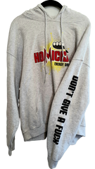 Silicon Valley: Homicide Energy Drink Grey Hoodie