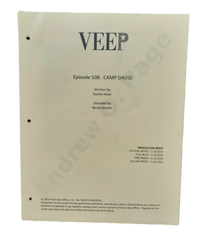"VEEP: Episode 508 ""Camp David"" HERO Production Draft"