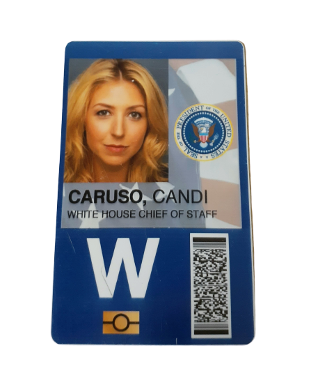 VEEP: Candi Caruso Chief Of Staff Badge