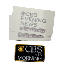 VEEP: Mike's CBS Self Adhesive Name Tag And Patch