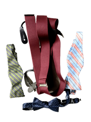 VEEP: Jonah's Set of Bow Ties and Suspenders