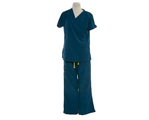 Dr. Ken: Damona's Scrubs Teal (1 of 2)-1