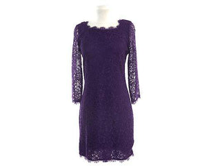Screenbid Media Company, LLC. - Allison's Purple Lace Dress