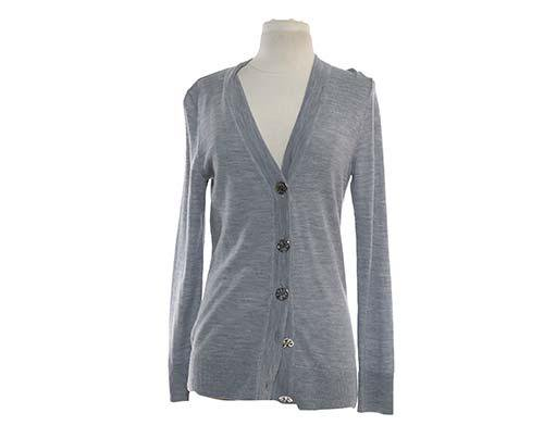 Dr. Ken: Allison's Heather Grey Cardigan-1