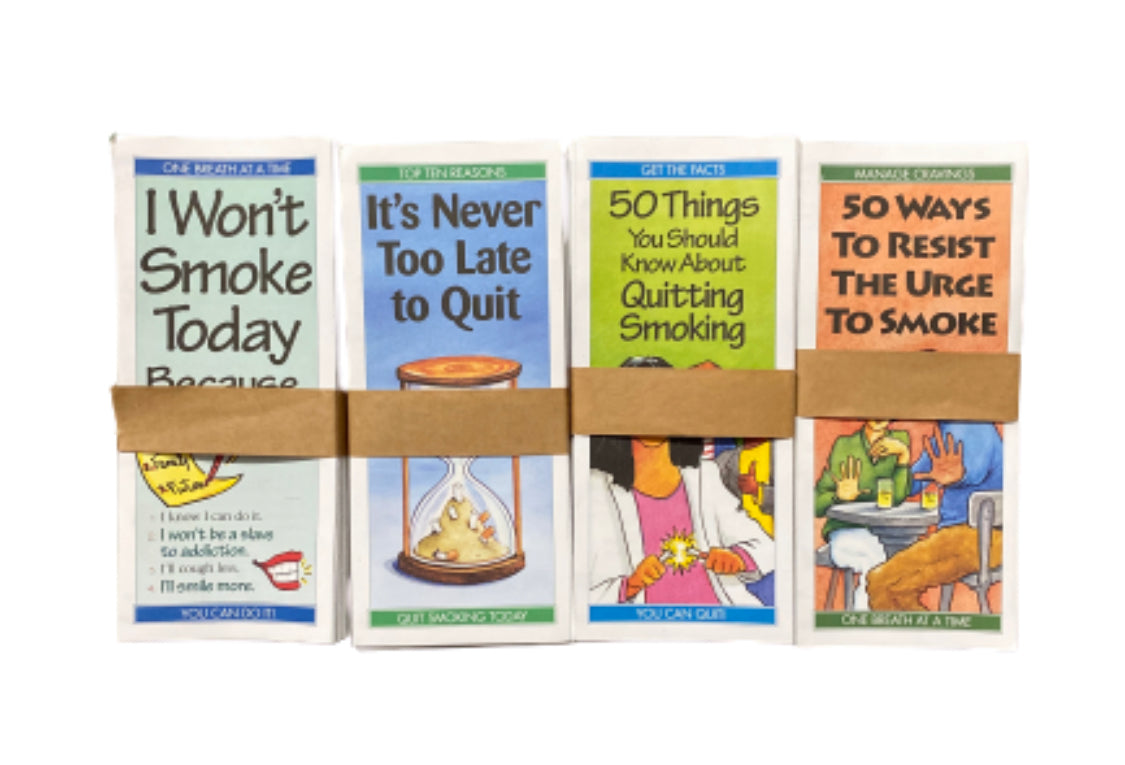 SILICON VALLEY: Monica's Quitting Smoking Pamphlets
