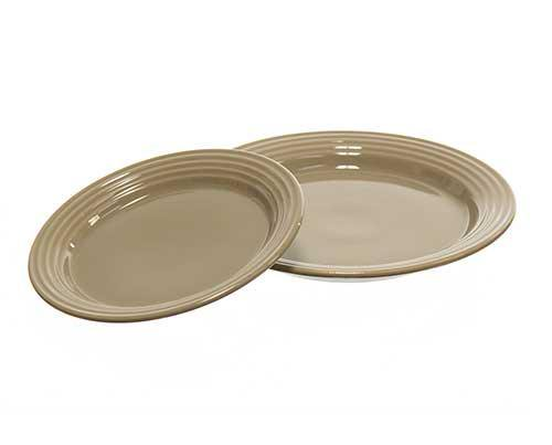 Shelby's House Grey Plate Set-1