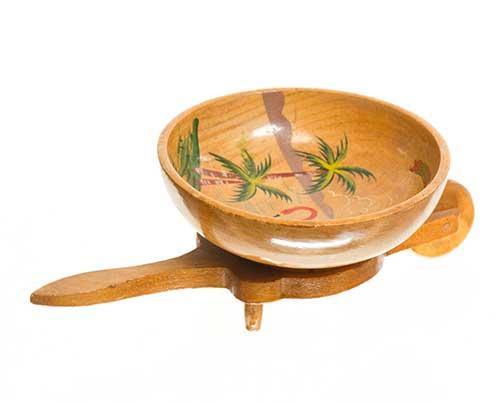 Shelby's House Florida Wooden Bowl