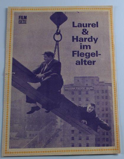 Laurel & Hardy German Program for Laurel and Hardy's Laughing 20's. (1965)