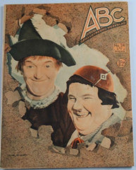 Laurel & Hardy Magazine ABC Geillustreerd Weekblad July 1935
