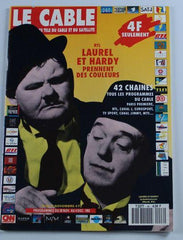 Laurel & Hardy Magazine Le Cable Nov 28-dec 4 1992