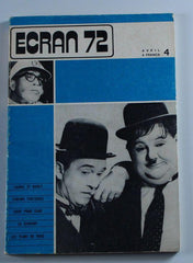 Laurel & Hardy Magazine Ecran 72 April 1972