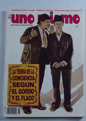 Laurel & Hardy Magazine Uno Mismo #37 January 1993