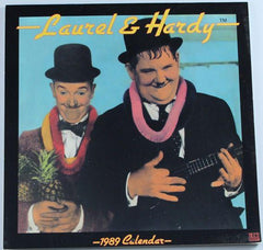 Laurel & Hardy Calendar from the Year 1989, Unused