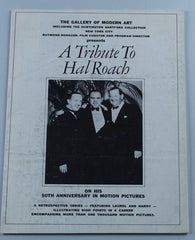 Laurel & Hardy a Tribute to Hal Roach Pamphlet on His 50th Anniversary in Motion Pictures)