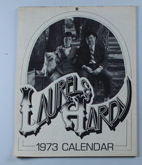 Laurel & Hardy Laurel and Hardy Black and White Calendar from 1973