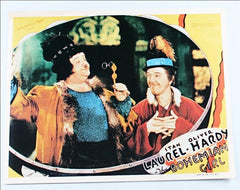 Laurel & Hardy Lobby Card Reproduction the Bohemian Girl (1936)