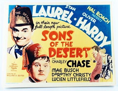 Laurel & Hardy Lobby Card Reproduction Sons of the Desert (1933)