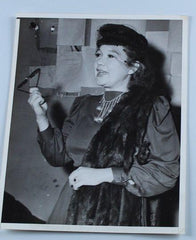 Laurel & Hardy Photo Stan's Ex Wife in Court