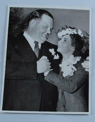 Laurel & Hardy Photo Oliver Hardy Wedding Photo