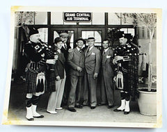 Laurel & Hardy Photo of Stan Meeting James Finlayson Original Stax Photo