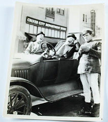 "Laurel & Hardy Photo Leave ""Em Laughing (1928)"