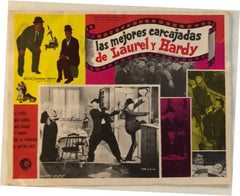 Laurel & Hardy Lobby Card Las Mejores Carcajadas De Laurel Y Hardy in Spanish the Best of Laurel & Hardy (1967) #2