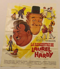 Laurel & Hardy La Rencontre De Laurel and Hardy Color Poster French the Further Perils of Laurel and Hardy (1967)