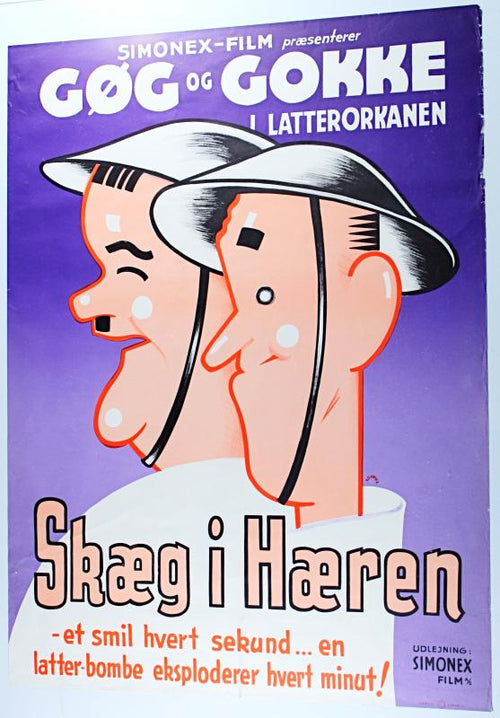 Screenbid Media Company, LLC. - Gog Og Gokke Skaeg I Haeren Pack up Your Troubles (1932)