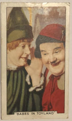 Laurel & Hardy 1934 Cigarette Card Babes in Toyland (1934)