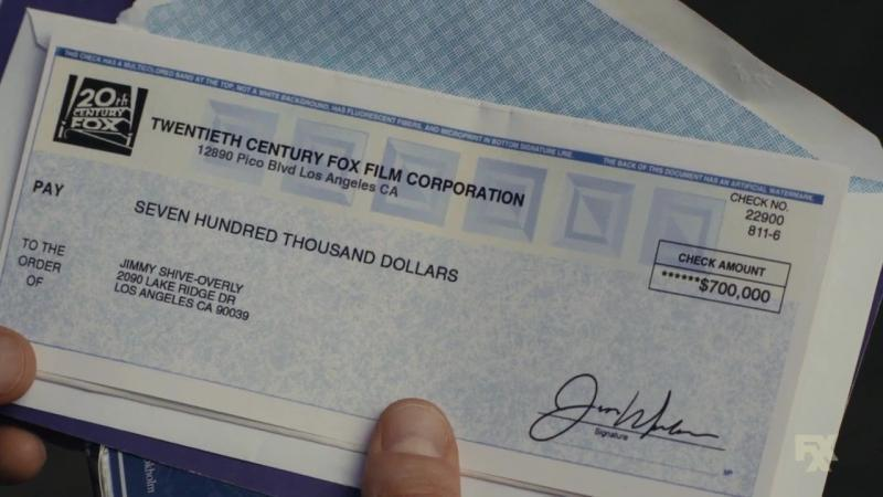 You're The Worst: Jimmy's $700,000 Check