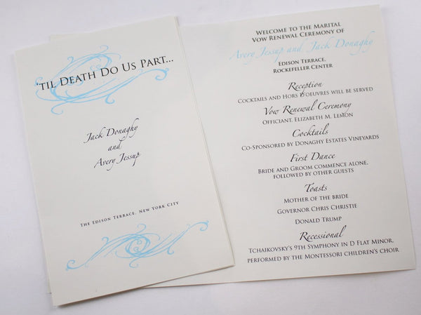 30 Rock: Jack Donaghy and Avery Jessup's Wedding Invitation-2