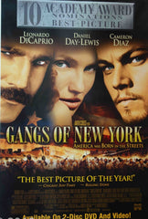 Gangs Of New York Framed Poster