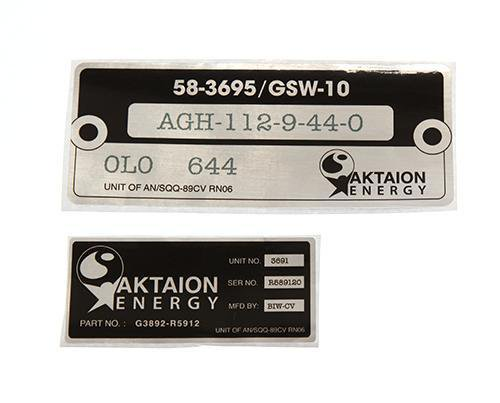 Under The Dome: Aktaion Energy Solar Panel Stickers - 1 of 2-1