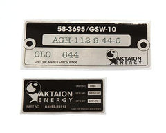 Under The Dome: Aktaion Energy Solar Panel Stickers - 1 of 2