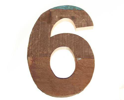 Big Jim's Wooden Number 6