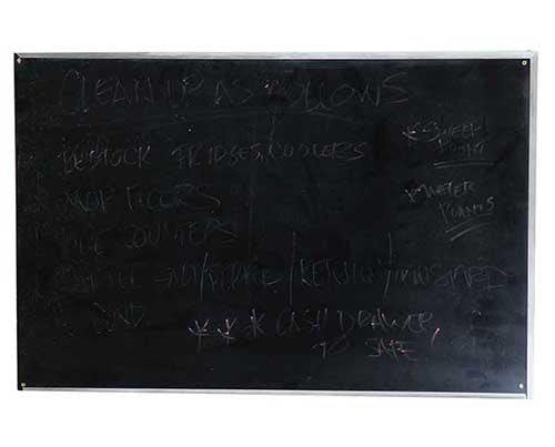 Under The Dome: Sweetbriar Rose Diner Medium Chalkboard Menu-1