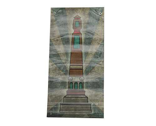 Under The Dome: Zenith Obelisk Street Banner-1