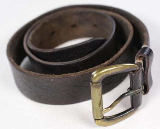 SONS OF ANARCHY: :  Men's Brown Leather Belt (36-38)