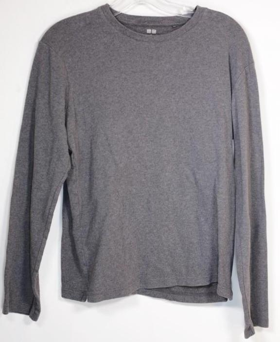 SOA Uniqlo Grey long sleeved shirt