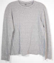 SONS OF ANARCHY: : Uniqlo Light Grey long sleeved shirt
