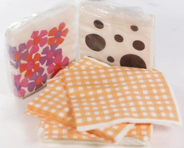 MAD MEN: Betty's Lot of Vintage party napkins-1