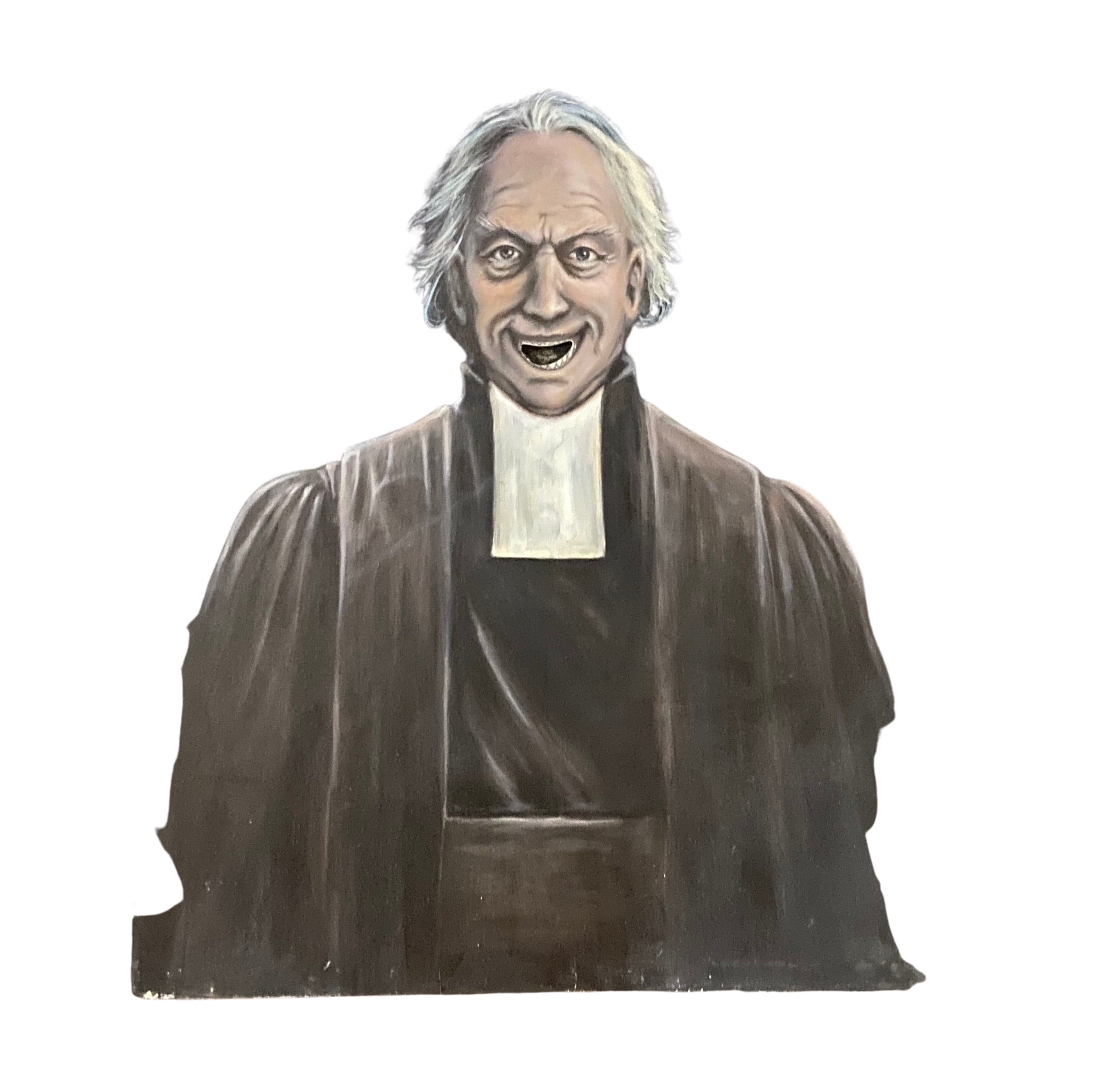 Scary Movie 2 Old Man Canvas Painting (A)