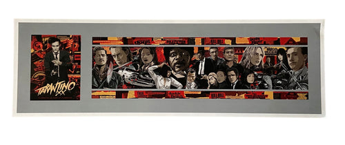 Screenbid Media Company, LLC. - The Best of QuentinTarantino Movie Poster