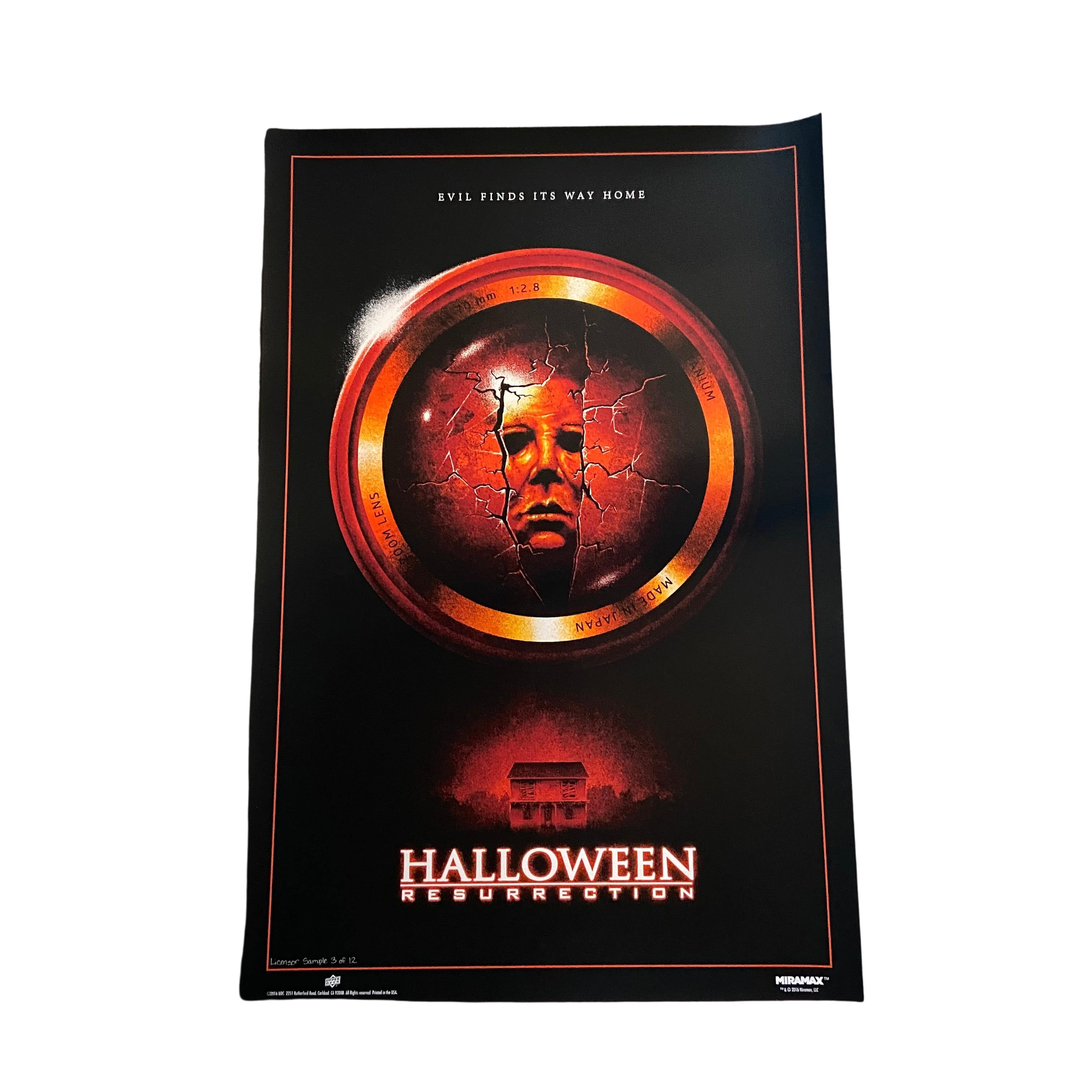 Halloween Resurrection Official 7 Run Limited Edition Movie Posters (A)