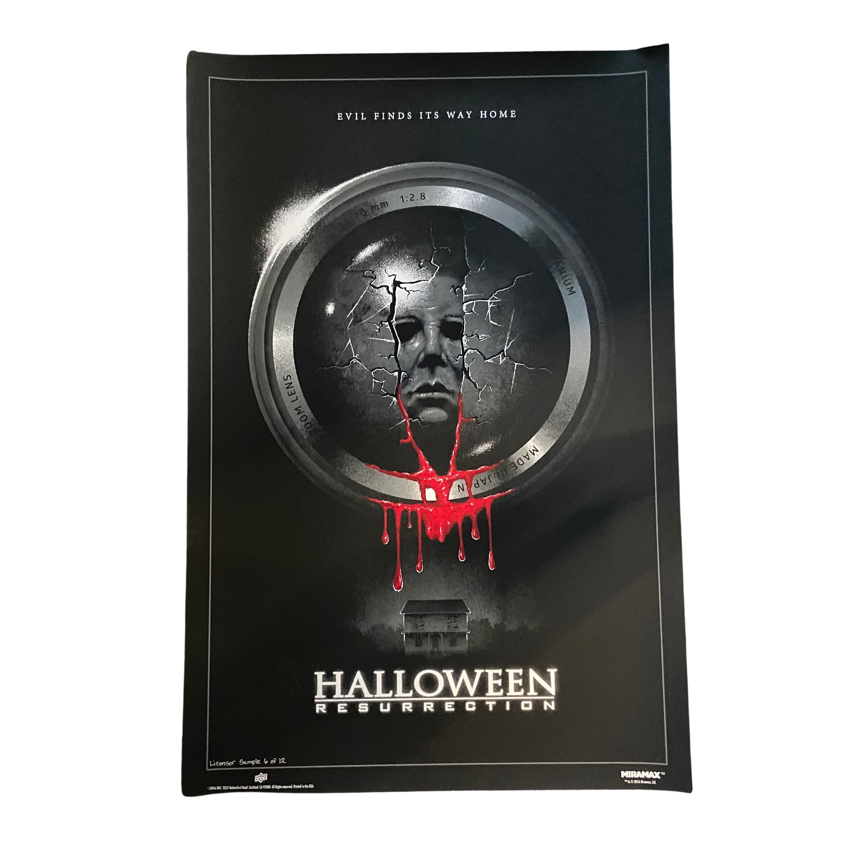Halloween Resurrection Official 7 Run Limited Edition Movie Posters (B)