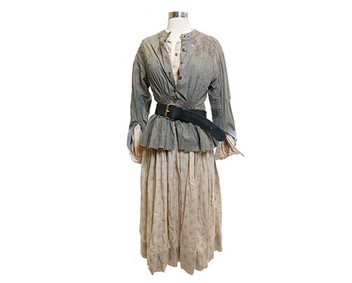 Cold Mountain: Ruby's Floral Dress Outfit-3