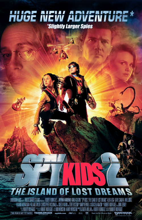 Screenbid Media Company, LLC. - Spy Kids 2: Cast Signed Script