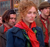 Gangs of New York: Jenny's Green and Brown Brushed Blouse