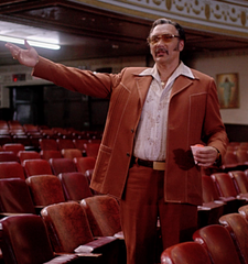 The Get Down: Papa Fuerte's Rust Colored Suit