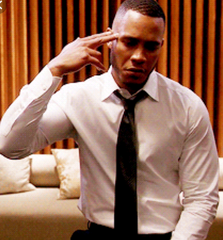 EMPIRE: Andre's White Royal Oxford Shirt